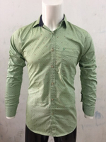 Used Green music 🎵 casual shirt-Size Medium in Dubai, UAE