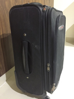 Used Soft Monza luggage Cabin , with trolley  in Dubai, UAE