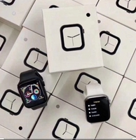 Used W34 smart watch with calling & HRS black in Dubai, UAE
