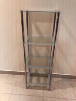 Used Glass rack used  in Dubai, UAE
