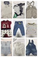 Used Used clothes for 0 to 6 months baby boy in Dubai, UAE