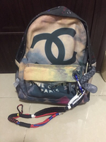 Used Chanel Graffiti Backpack  in Dubai, UAE
