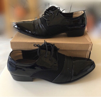 Used Black Charol Shoes for Men/48 in Dubai, UAE