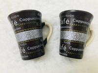 Used Dark chocolate brown coffee cups cute in Dubai, UAE