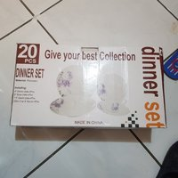 Used Ceramic new 20pcs dinner set in Dubai, UAE