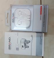 Brend New Iphone Headphone And Charger IBrand Same Original