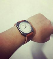 Used TOMI leather Watch 》Original with BOX in Dubai, UAE