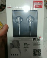 Used Yinwoking W16 Earphone New Wired Silver in Dubai, UAE