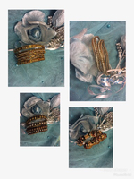 "Metal  bangles 2.4""size  bundle offer"