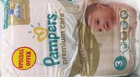 (62x2) 124 Pieces Of Premium Care Pampers.