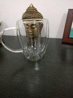 Used Glass mug/ Toothbrush holder in Dubai, UAE