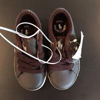 Used Polo Ralph Lauren Brown Leather Shoes. New. Sz EU 23. Never Worn. Tags On. Amazing!!! in Dubai, UAE