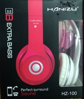 Used Hanizu extra bass wired headphone in Dubai, UAE