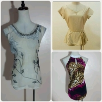 Used Bundle Offer 3 Tops For LADIES in Dubai, UAE