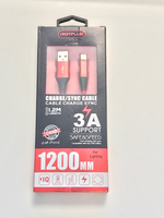 Used Genuine Digitplus Lightning cable Red in Dubai, UAE