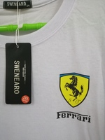 Used T-shirt with Ferrari logo from Swenearo in Dubai, UAE