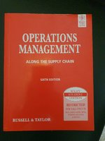 Used Operation Management book in Dubai, UAE