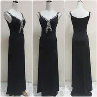 Used Brand new black Long dress for lady, in Dubai, UAE