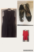 2 H&M dresses and Naturalizer shoes.