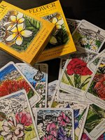 Used Flower Reading Cards with Booklet in Dubai, UAE