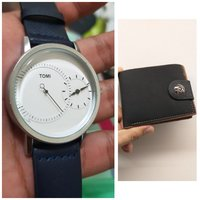 Used Original TOMI Watch | 🆓️ Leather Wallet in Dubai, UAE