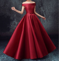 Used Maroon maid of honor bridesmaid dress in Dubai, UAE