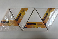 Used Four New 20cm Triangle Canvas in Dubai, UAE