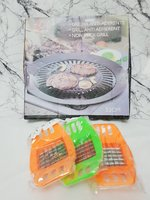 Used Ceramic Grill Pan|3pcs fruit&veg cutter in Dubai, UAE