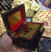 Gift Item Gold Foil Playing Card With Box Sale Sale Sale!!!!!!!!!!!!