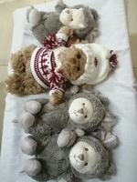 Used Combo offer. 4 pcs of Teddy bears & toys in Dubai, UAE