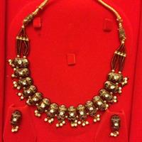 #ethnic #new #antique #necklace #earnings