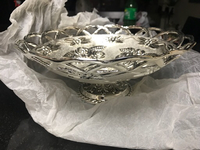 Used Fruit/Potpourri silver bowl in Dubai, UAE