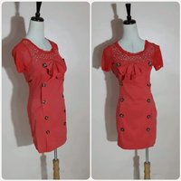 Used Red fabulous Short dress For lady. in Dubai, UAE