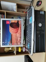 Used Dell PC, BenQ Monitor, Keyboard & Mouse in Dubai, UAE