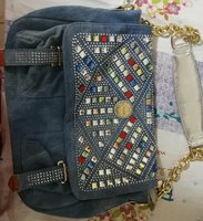 Used Funky jeans bag for ladies in Dubai, UAE