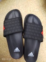 Used Black adidas slipper in Dubai, UAE
