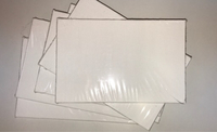Used Six New Canvas Boards Size 4x6 inches in Dubai, UAE