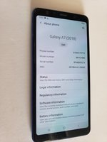 Used Samsung galaxy a7 2018 in Dubai, UAE
