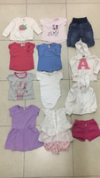 Used 12 Pcs For Her Baby 3-6-9-12Month Uesd  in Dubai, UAE
