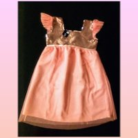 Used New sequins dress for girls 7-9 yrs old in Dubai, UAE