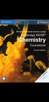 Used IGCSE CHEMISTRY COURSEBOOK with CD in Dubai, UAE