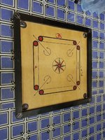 Used carrom board like new good indian in Dubai, UAE
