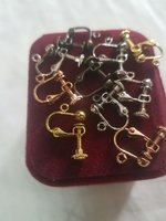 Used Pure copper Earless screw ear clip 5pair in Dubai, UAE