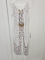 Used ELEGANT LONG DRESS WITH CHAIN & BELT in Dubai, UAE