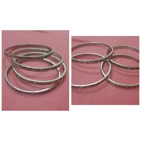 Used 8 pcs of Bangles Love Live sing Dance in Dubai, UAE