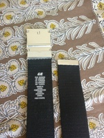 Used H&M's men 2 belts--new in Dubai, UAE