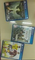 Used Used games PS4 For 3 CDs  in Dubai, UAE