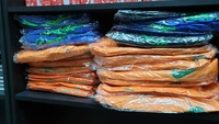 Used Bundle of plastic reusable/foldab bags in Dubai, UAE