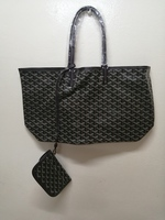Tote Weave Handbag with inner pouch