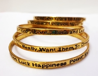 Used (5pcs) Spirit Statement Bracelets in Dubai, UAE